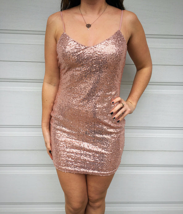 Pop the Champagne Bodycon