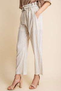 Girl Boss Striped Pants