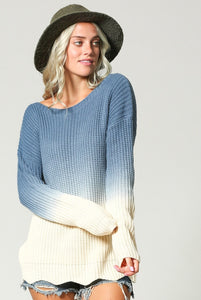 Blue Moon Sweater