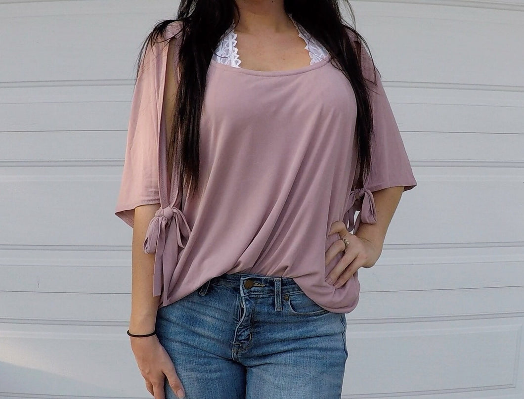 Dusty Pink Tunic Top