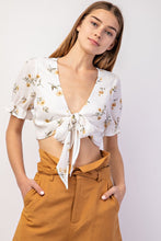 Tiny Daisy Crop Top