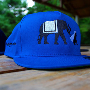 NOMAD Silhouette Snapback Hat (Royal)
