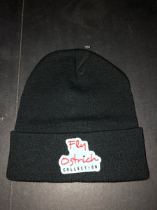 Fly Ostrich Collection Patch Beanie