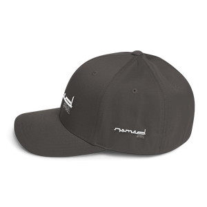 NOMAD White Signature Fitted Hat