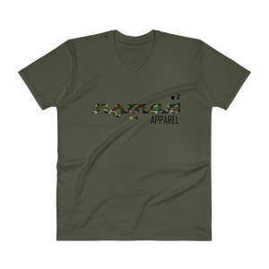 NOMAD Signature (3 DOT) Camo Premium V-Neck T-Shirt