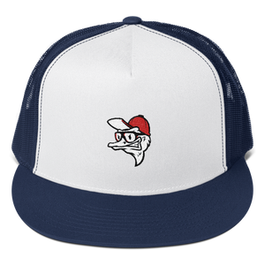 Fly Ostrich Face Trucker Cap