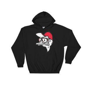 Fly Ostrich Face Unisex Hooded Sweatshirt