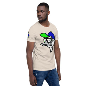 Fly Ostrich Face T-Shirt (Royal/ Neon)