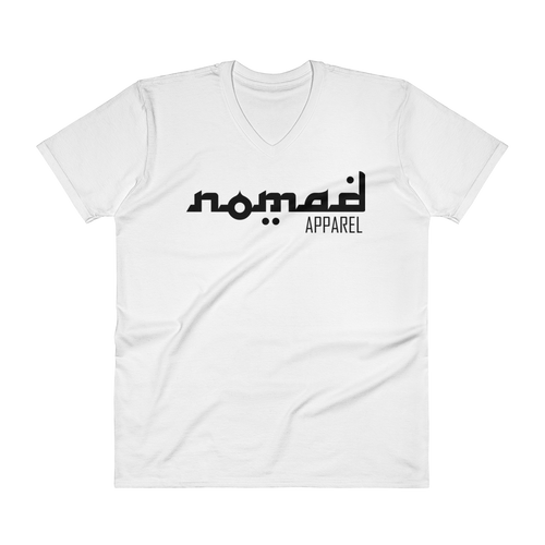 NOMAD Black Signature (3 DOT) Premium Men's V-Neck T-Shirt