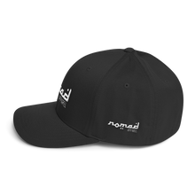 NOMAD White Signature (3 DOT) Fitted Hat