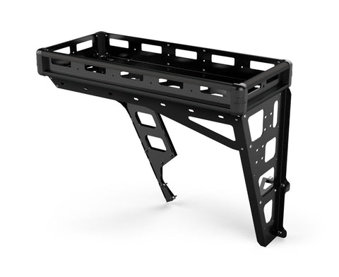 JK/JKU Alta Cargo Rack - Black Rails