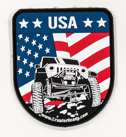 CR Patriotic Jeep JK patch