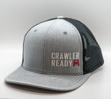 Crawler Ready Stacked Small Logo hat