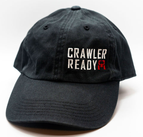 Crawler Ready Stacked Logo Small Dad hat