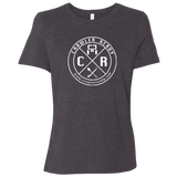 CR circle logo Canvas Ladies' Relaxed Jersey Short-Sleeve T-Shirt