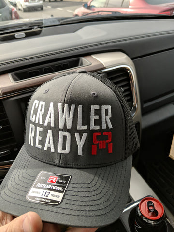 Bold Crawler Ready charcoal trucker