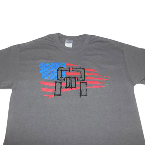 Patriotic T-Shirt - Gray