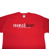 Crawler Ready Name Logo Shirt - RED