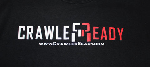 Crawler Ready Name Logo Shirt - Black