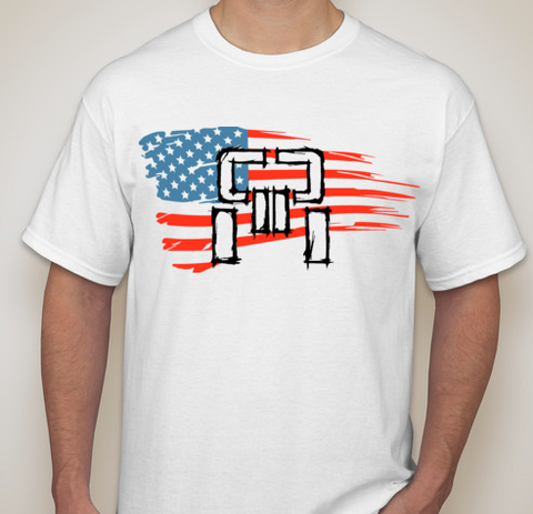 Patriotic T-Shirt - White