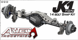 JK 1 TON - REAR 14 BOLT SWAP KIT