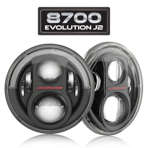 LED Headlights – Model 8700 Evolution J2 Series