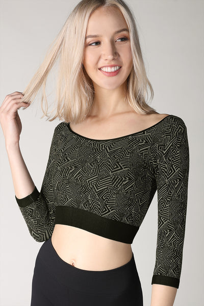 Retro Crop Top
