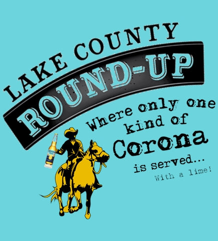 Lake County Round-Up Serves Corona.. With a Lime! - Tahiti Blue
