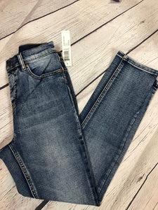Tribal High Rise Skinny Jeans