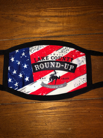 Lake County Round-Up Face Mask