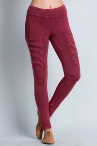 Basic Legging with Flare - 2 Colors