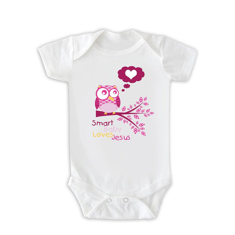 Body  Smart Baby Loves Jesus CG-BD-0112-RS-ING