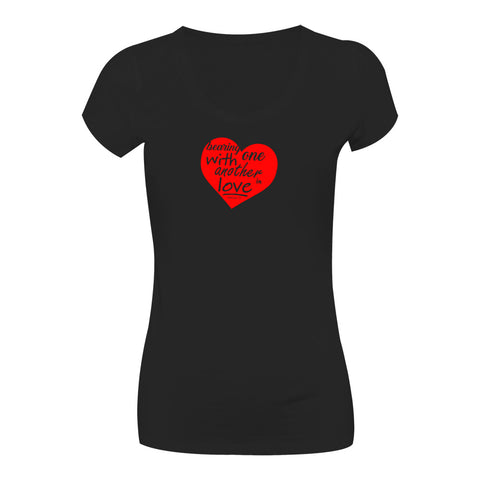 Camiseta Bearing with one another in love CG-LL-1580-PR Long Looks