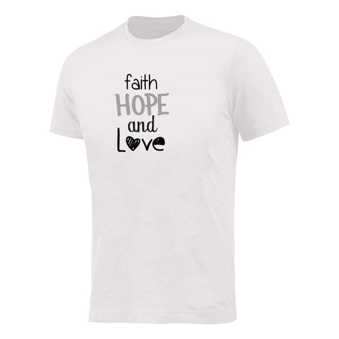 Camiseta Faith Hope Love CG-TS-1577-BR