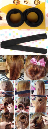 DIY Hair Styling Magic Bun