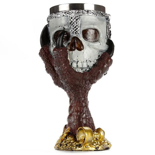 Gothic Goblet Halloween Party Drinking Glass