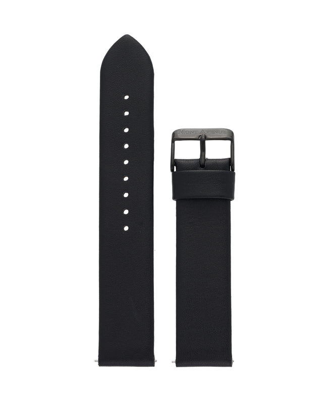 BLACK LEATHER STRAP