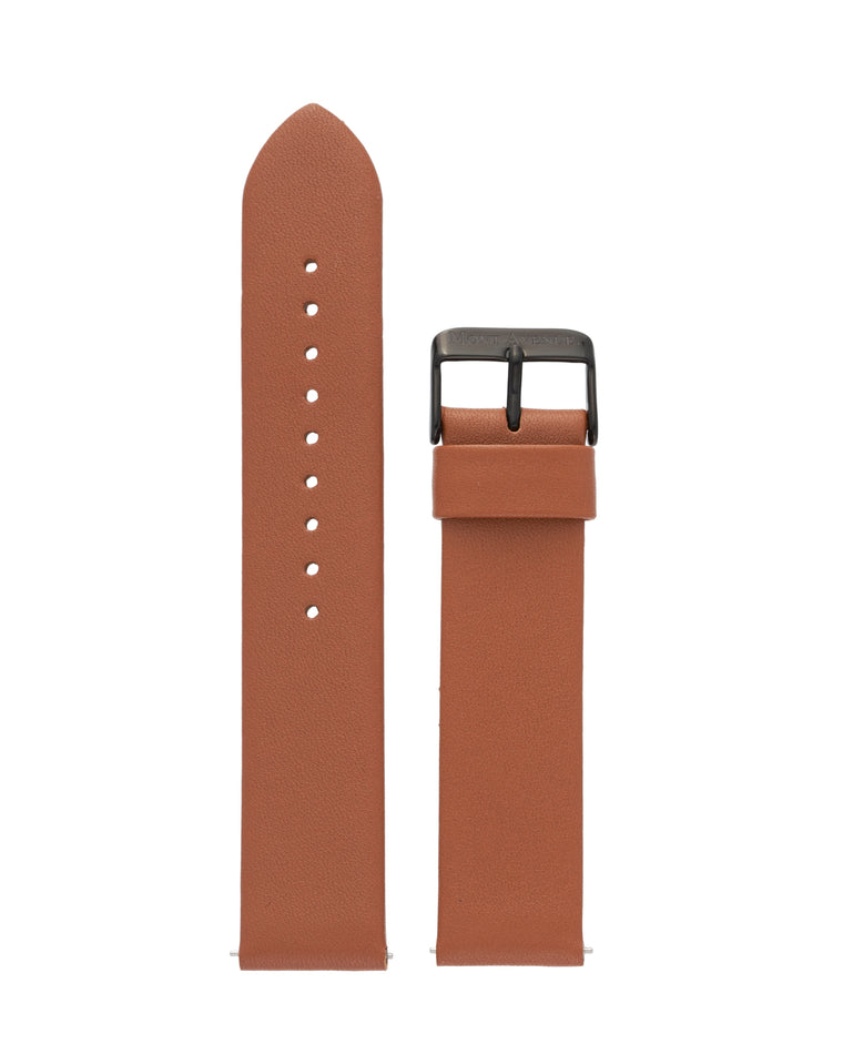 BROWN & BLACK LEATHER STRAP