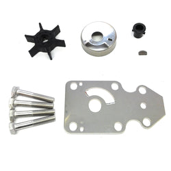 Water pump impeller repair kit Yamaha 9.9hp 15hp 63v-w0078-01 - ssimarine
