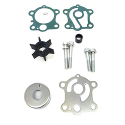 Water Pump Impeller Repair Kits with Housing 663-W0078-01 for Yamaha 55HP Outboard Motor - ssimarine