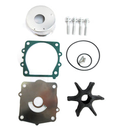 Water Pump Impeller Repair Kit 68V-W0078-00 YAMAHA 80HP 100HP 130 HP F80D F100F F130 - ssimarine