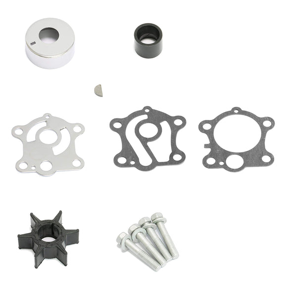 Water Pump Impeller Repair Kits 696-W0078-00 for Yamaha Replacement Water 48HP Outboard Motor - ssimarine