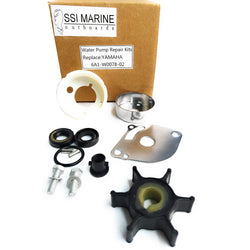 Water Pump Kit 6A1-W0078-02 Yamaha Impeller-2 HP - ssimarine