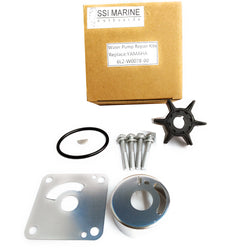 Water Pump Repair Impeller Replacement Kit Yamaha 6L2-W0078-00 20HP 25HP - ssimarine