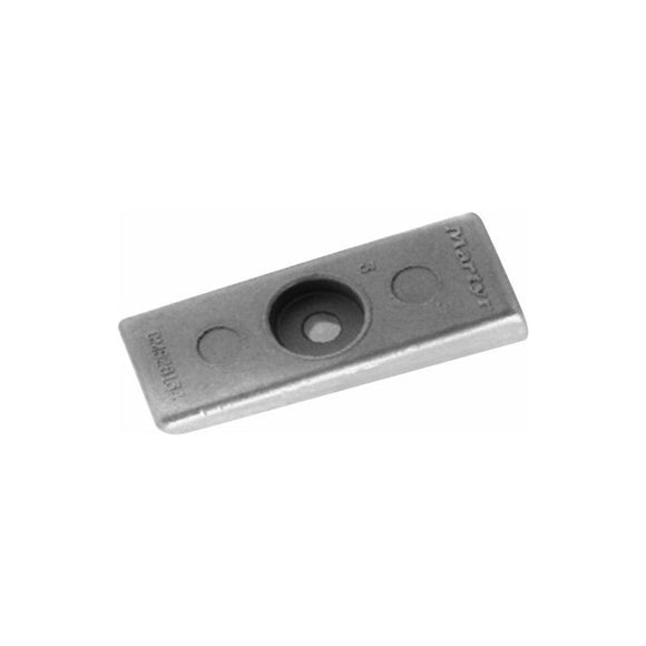 ANODE FOR MERCURY/ MARINER  OUTBOARD 75-300 HP 2 STROKE 826134Q GEARBOX ANODE - ssimarine
