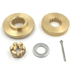 Propeller kit outboard Yamaha 60-100 hp spacer washer nut split pin propeller