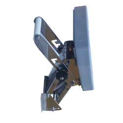 Auxiliary outboard bracket Stainless Steel adjustable motor bracket with the plastic board.