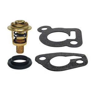Thermostat Kit Mercury, Mariner Outboard 8 9.9 15  hp 2 CYL 14586A3 gasket seal - ssimarine