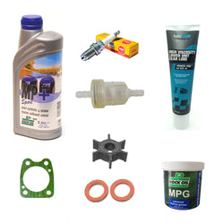 Service Maintenance Kit 6 hp 4 stroke F6 oil grease for Yamaha outboard engine