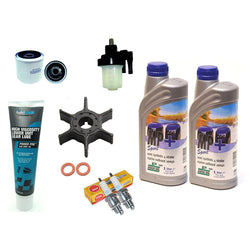 Service Maintenance kit 15 20 hp Yamaha outboard 4 stroke 2006 & up boat engine